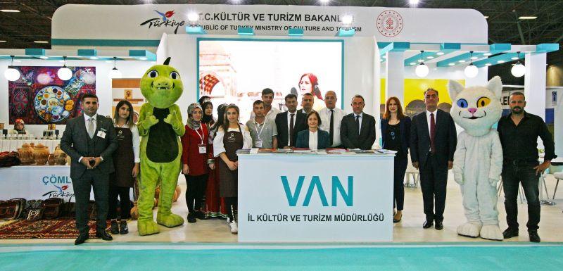 10. Van Doğu Anadolu Turizm ve Seyahat Fuarı 26-29 Eylül 2019 tarihleri Arasında Yapıldı